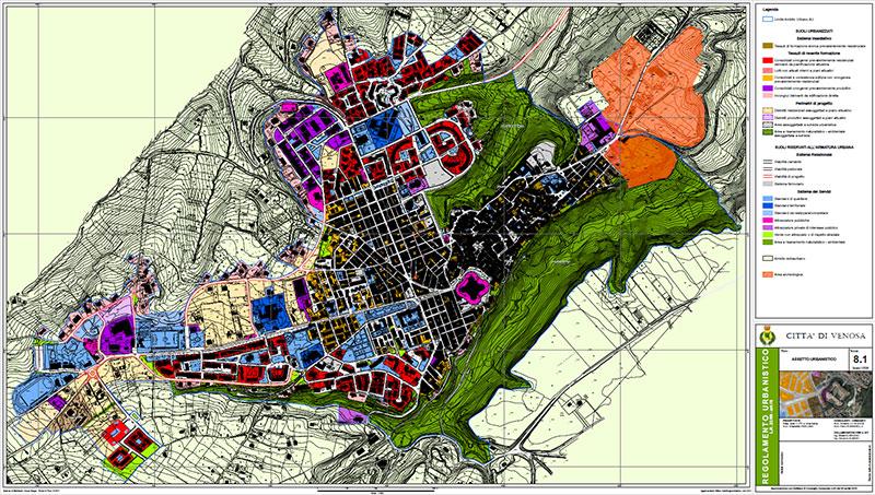 Regolamento Urbanistico del Comune di Venosa