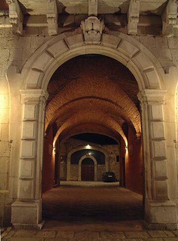 Ingresso Palazzo Calvini - Venosa