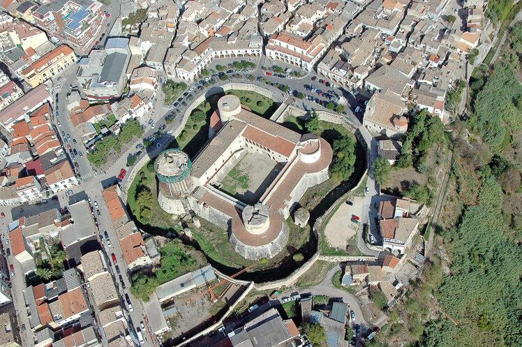 Foto Aerea Castello ducale - Venosa