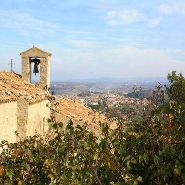 Panorama da Monastero di Montalbo - Venosa