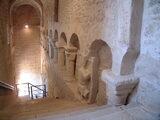 Scalinata accesso Monastero della SS. Trinità - Venosa