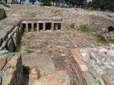 Particolare delle terme del Parco Archeologico di Venosa
