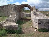Particolare Anfiteatro romano Parco Archeologico  - Venosa