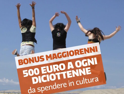 Bonus Cultura ai nati nel 1998